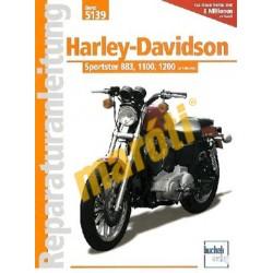 Harley-Davidson Sportster 883, 1100, 1200 (Javítási kézikönyv)