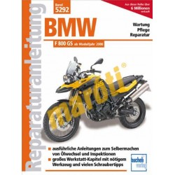 BMW F 800 GS  2008-tól (Javítási kézikönyv)