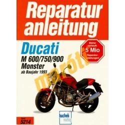 Ducati M 600/750/900 Monster (Javítási kézikönyv)