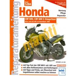 Honda CBF 600 / 600 S 2008-tól (Javítási kézikönyv)