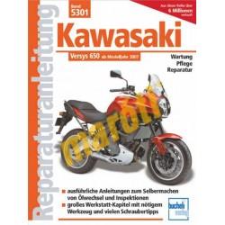 Kawasaki Versys 650 ccm (Javítási kézikönyv)