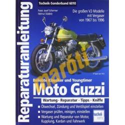 Moto Guzzi V2 1967-1999 (Javítási kézikönyv)