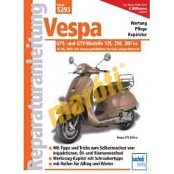 Vespa GTS 250/300 2006-tól (Javítási kézikönyv)