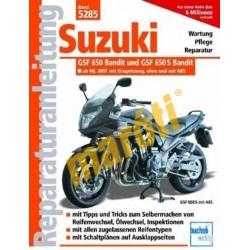 Suzuki GSF 650 Bandit 2007-től (Javítási kézikönyv)