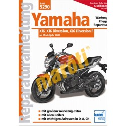 Yamaha - XJ6, XJ6 Diversion, XJ6 Diversion F (Javítási kézikönyv)