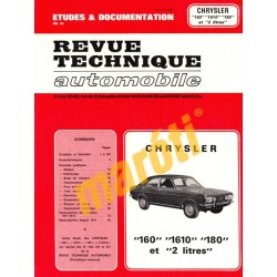 Chrysler 160, 1610, 180 (javítási kézikönyv)
