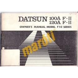 Datsun 100A 120A (használati útmutató)