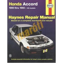 Honda Accord 1990-1993 (javítási kézikönyv)