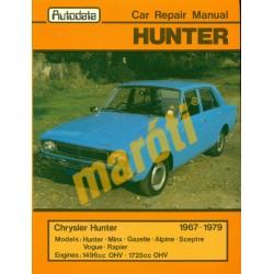 Chrysler Hunter 1967-1979 (javítási útmutató)