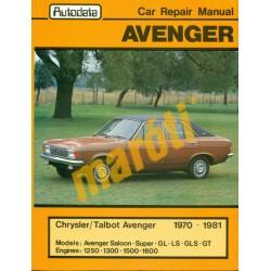 Chrysler Talbot Avenger 1970-1981