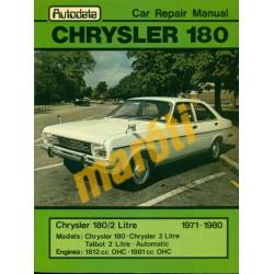 Chrysler 180 1971-1980 (javítási útmutató)