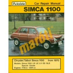Simca 1100 1967-1978 (javítási útmutató)