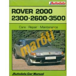 Rover 2000 2300 2600 3500 (javítási kézikönyv)