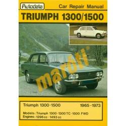 Triumph 1300 1500 1965-1973 (javítási kézikönyv)