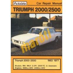 Triumph 2000 2500 1963-1977 (javítási kézikönyv)