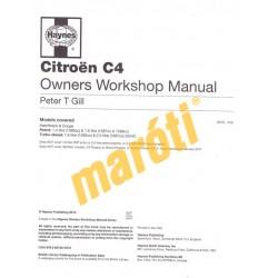 Citroen C4 2004-2010 (javítási kézikönyv)