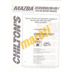 Mazda 1978-89 Repair Manual