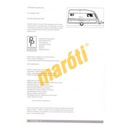 Caravan Owner's Manual and service guide (Javítási útmutató)