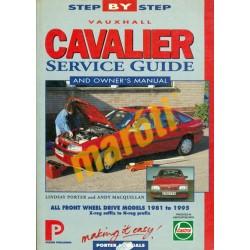 Opel Vectra/Vauxhall Cavalier Service Guide and Owner's Manual 1981-1995 (javítási útmutató)