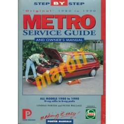 Metro Service Guide and Owner's manual 1980-1990 (javítási útmutató)