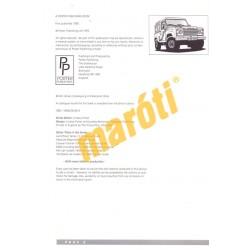 Land Rover Defender 90, 110 Service Guide and Owner's manual 1983-1995 (javítási útmutató)