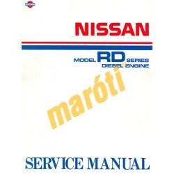 Nissan Model RD Series Diesel Engine Service Manual 1989 (javítási kézikönyv)
