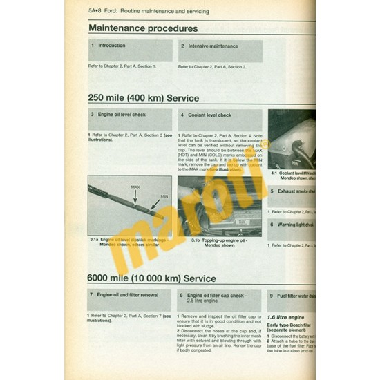 Diesel Engine Service Guide