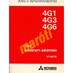 Mitsubishi 4G1 - 4G3 - 4G6