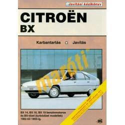 Citroen BX (1982-1993) (Javítási kézikönyv)