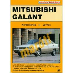 Mitsubishi Galant (1984-1988) (Javítási kézikönyv) - sérült