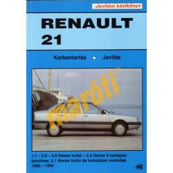 Renault 21 (1986-1994) (Javítási kézikönyv) - sérült