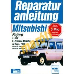 Mitsubishi Pajero 1982-től (Javítási kézikönyv)