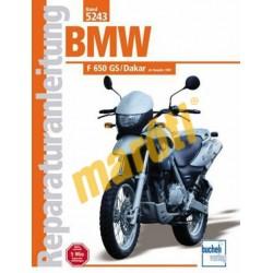 BMW F 650 GS/Dakar 2001-től (javítási könyv)