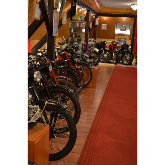 Ajándék belépő a Maróti Motorkerékpár-gyűjteménybe (felnőtt)