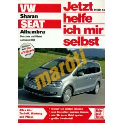 VW Sharan / Seat Alhambra 2010-től (Javítási kézikönyv)