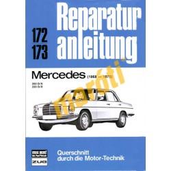 Mercedes 200 D/8, 220 D/8  (1968-1975) (Javítási kézikönyv)
