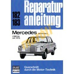 Mercedes 200-8/220-8  (1968-1973) (Javítási kézikönyv)