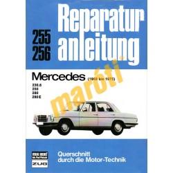 Mercedes 230.6, 250, 280, 280 E  (1968-1975) (Javítási kézikönyv)