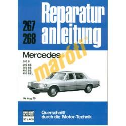 Mercedes 280 S, 280 SE, 350 SE, 450 SE, 450 SEL  (Javítási kézikönyv)