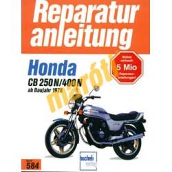 Honda CB 250 N/400N 1978-tól (Javítási kézikönyv)