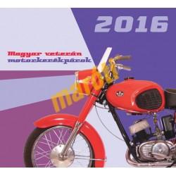 Magyar veterán motorkerékpárok naptár (2016)