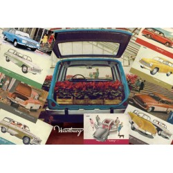 Wartburg képeslapok (10 db)