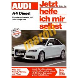 Audi A4 / A4 Avant Diesel 2007/2008 (Javítási kézikönyv)