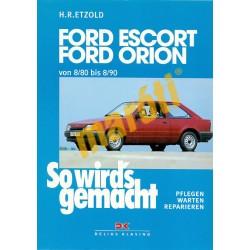 Ford Escort Orion und Turnier/Express (Javítási kézikönyv)