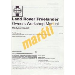 Land Rover Freelander 2006-2014 (Javítási kézikönyv)