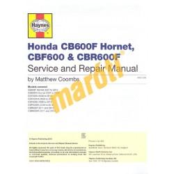 Honda CB600F Hornet, CBF600, CBR600F 2007-2012