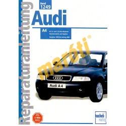 Audi A4 1999 - 2001 (Javítási kézikönyv)
