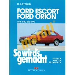Ford Escort /Ford Orion 1980- 1990 (Javítási kézikönyv)