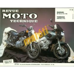 Suzuki GN 125 (1987-1996) Yamaha TDM 850 (1996)