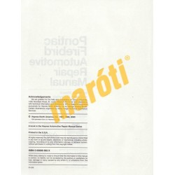 Pontiac Firebird 1970 - 1981